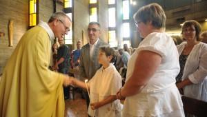 baptême enfant lumière