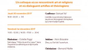 affiche colloque L'art et l'altérité 2017
