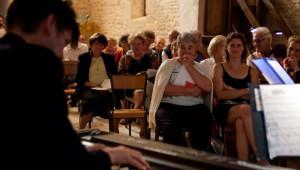"""7 Juillet 2012 : Vincent FREPPEL, organiste, membre de """"Duo de Champagne"""". 2e Nuit des Eglises à l'initiative de la revue Narthex, égl. Sainte Marie Madeleine, Couzon sur Coulange (52), France.   July 7th, 2011: Vincent FREPPEL, organist, member of """"Duo de Champagne"""". Second Night of Churches. Churches open their doors all the night for artistic, cultural and spiritual events. Ch. Sainte Marie Madeleine, Couzon sur Coulange (52), France."""