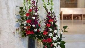 Compositions florales pour la fête de Saint Pierre et Saint Paul