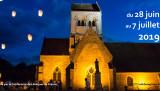 Église Saint-Martin à Montigny-l'Allier (02) - Photo gagnante du concours photo de La Nuit des églises 2017, catégorie : photo d'extérieur.