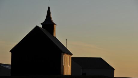 Chapelle en Islande.