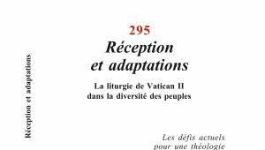 Couverture de La Maison-Dieu n°295, Editions du Cerf.