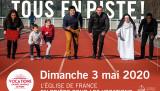 L'Église de France en prière pour les vocations : affiche officiel de la Journée de prière pour les vocations en 2020.