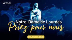 Grande neuvaine pour le monde à Notre-Dame de Lourdes, du 17 au 25 mars 2020.